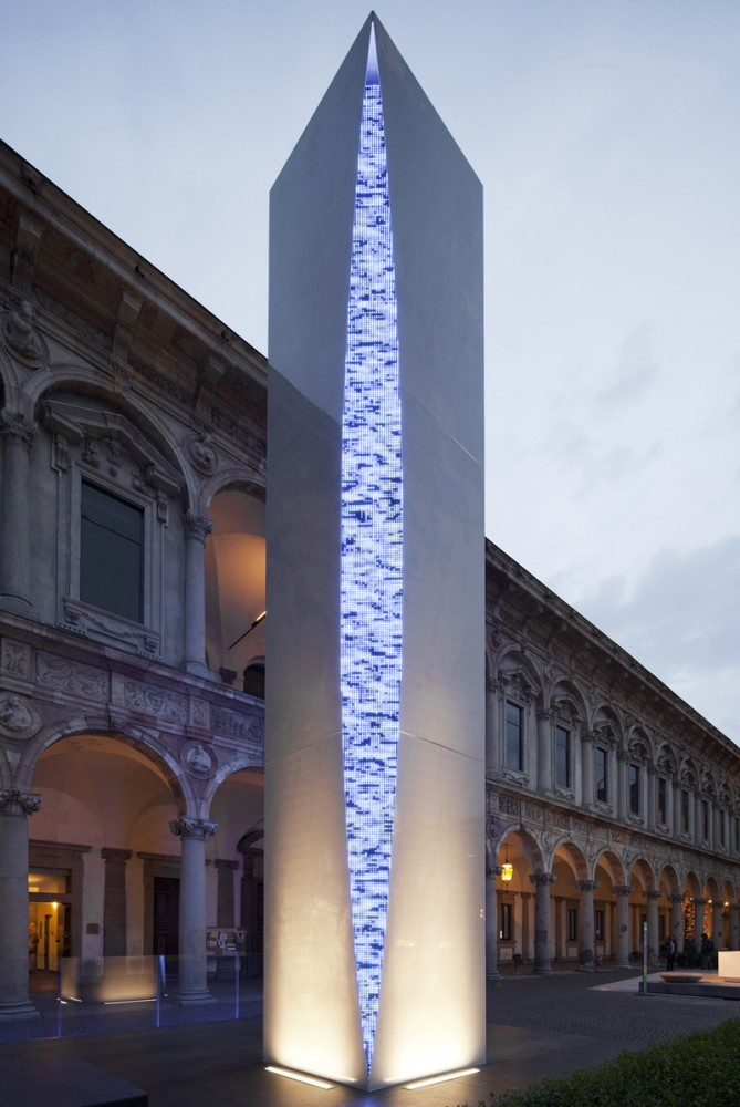 &#8216;Quattro Punti per una Torre&#8217; Installation / Massimo Iosa Ghini