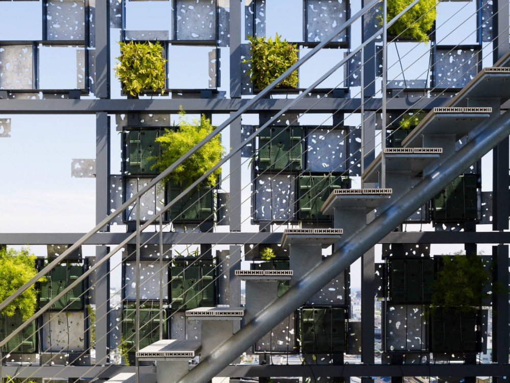 Green Cast / Kengo Kuma &#038; Associates