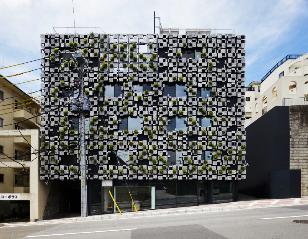 Green Cast / Kengo Kuma & Associates