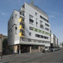 Logements Rue Riquet  / François Noël Architectes (16) © Martin Argyroglo