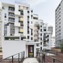 Logements Rue Riquet  / François Noël Architectes (13) © Martin Argyroglo