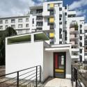 Logements Rue Riquet  / François Noël Architectes (8) © Martin Argyroglo