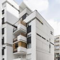 Logements Rue Riquet  / François Noël Architectes (7) © Martin Argyroglo