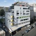 Logements Rue Riquet  / François Noël Architectes (1) © Martin Argyroglo