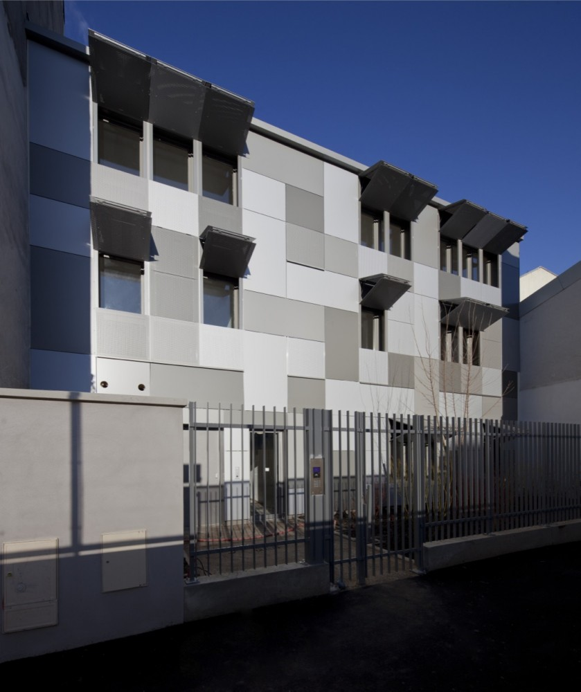 10 Logements Paris / RMDM Architectes
