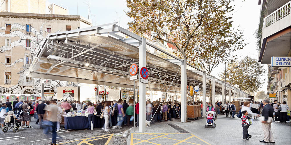 Sant Antoni Sunday Market / Ravetllat Ribas Architects