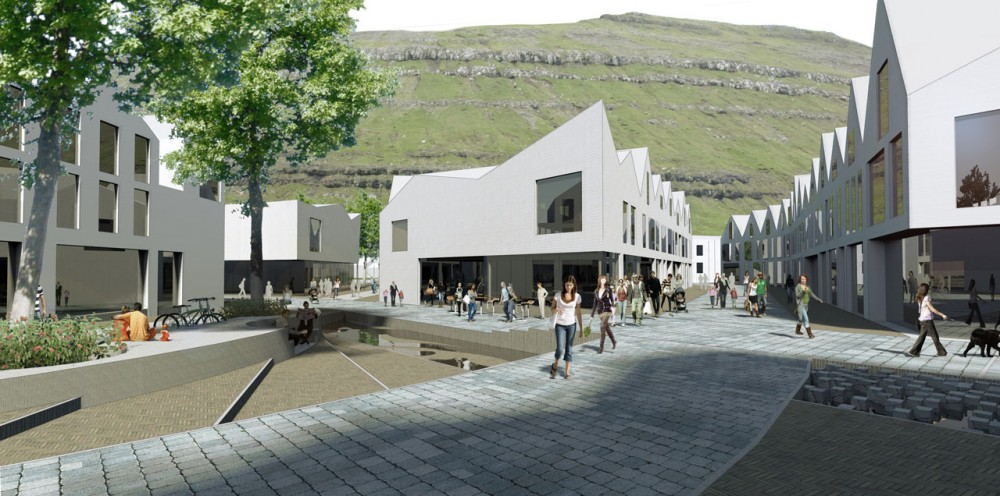 Klaksvik City Center Proposal / reSET Architecture