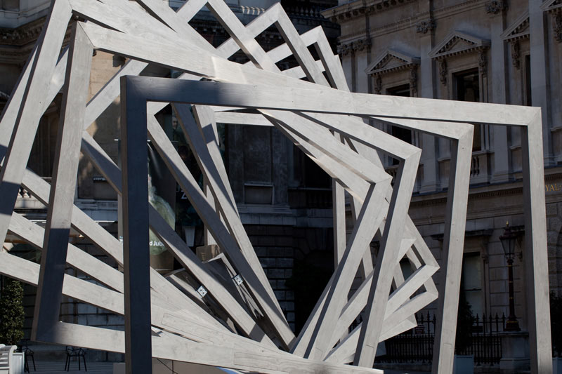 'From Landscape to Portrait' Installation at Royal Academy's Summer Exhibition / Chris Wilkinson