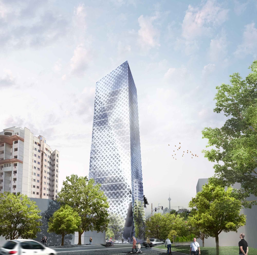 Ajoodaniyeh Tower / Kamvari Architects