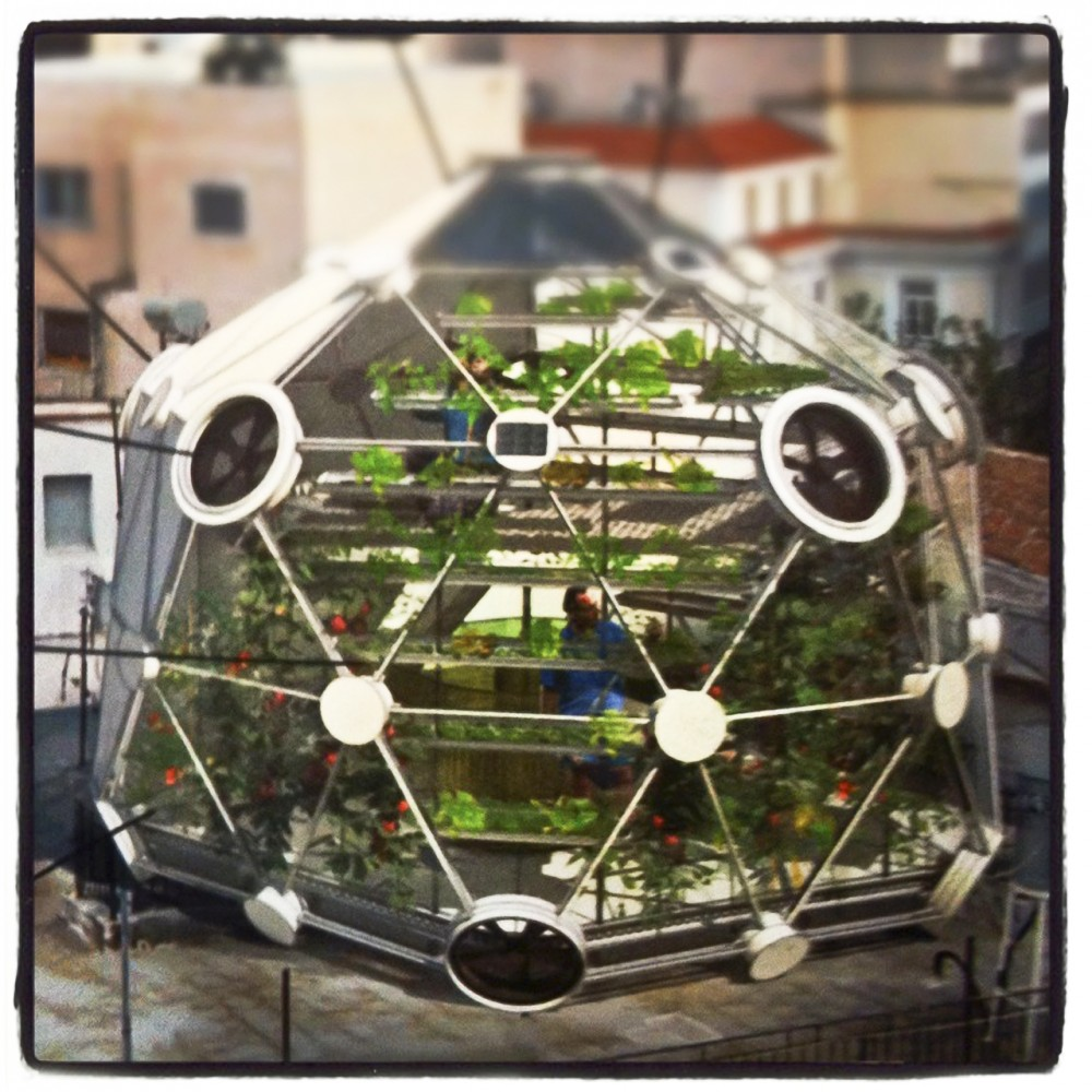 Globe/Hedron Rooftop Farm / Conceptual Devices