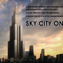 broad-sky-city Chinese construction company Broad Group has announced ambitious plans to construct the world's tallest skyscraper in an implausibly swift 90 days (© Image: Broad Group via Gizmag)