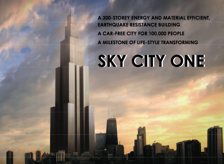 World's Tallest Skyscraper To Be Built…In 90 Days