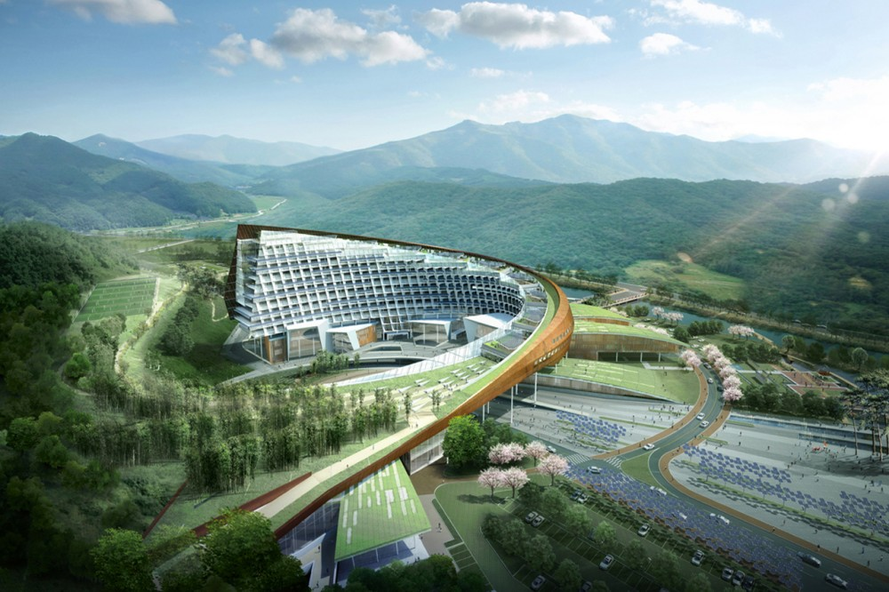 New Korea Hydro Nuclear Power Headquarters / H Architecture