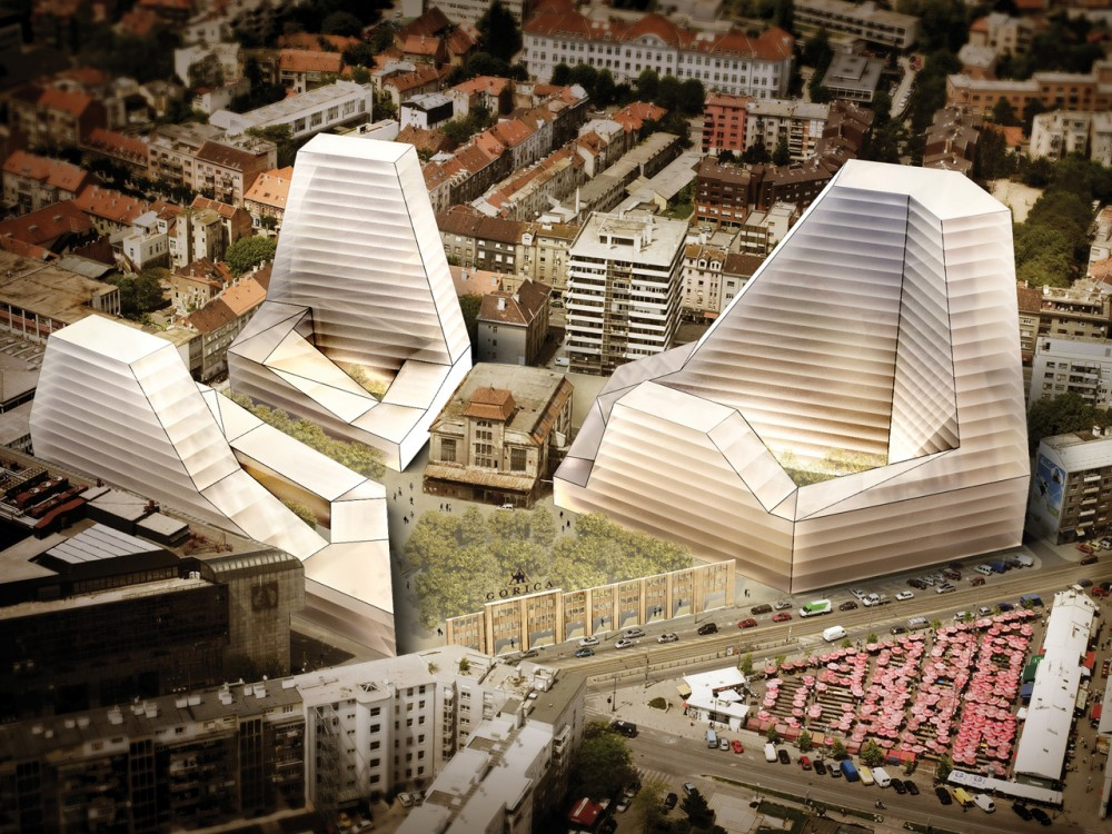Badel Block Complex Proposal / Popular Architecture