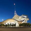 2012 RIBA Award Winners Announced (21) Centre Pompidou - Metz, Metz, France by Shigeru Ban and Jean de Gastine Architectes with Gumuchdjian Architects © Didier Boy de la Tour