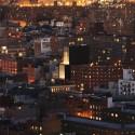 26City view by night - Tom Powel Sperone Westwater, Bowery, New York City / Foster + Partners © Tom Powel