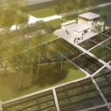 OverheadRendering Rendering of the Grow Dat Youth Farm, designed by the Tulane City Center at the Tulane School of Architecture.  Grow Dat Youth Farm.