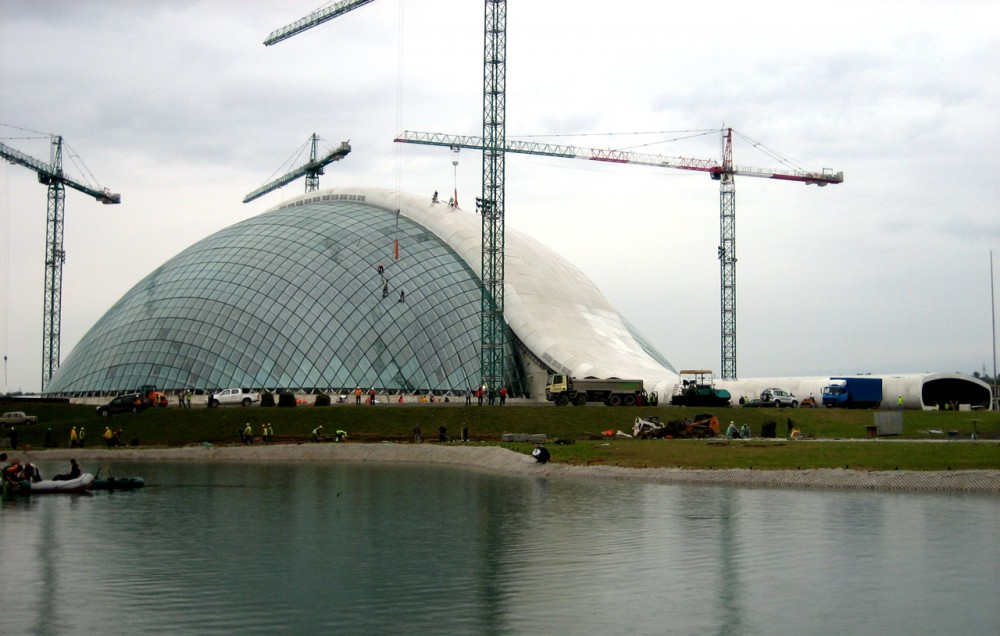 In Progress: New Parliament of Georgia / CMD Ingenieros