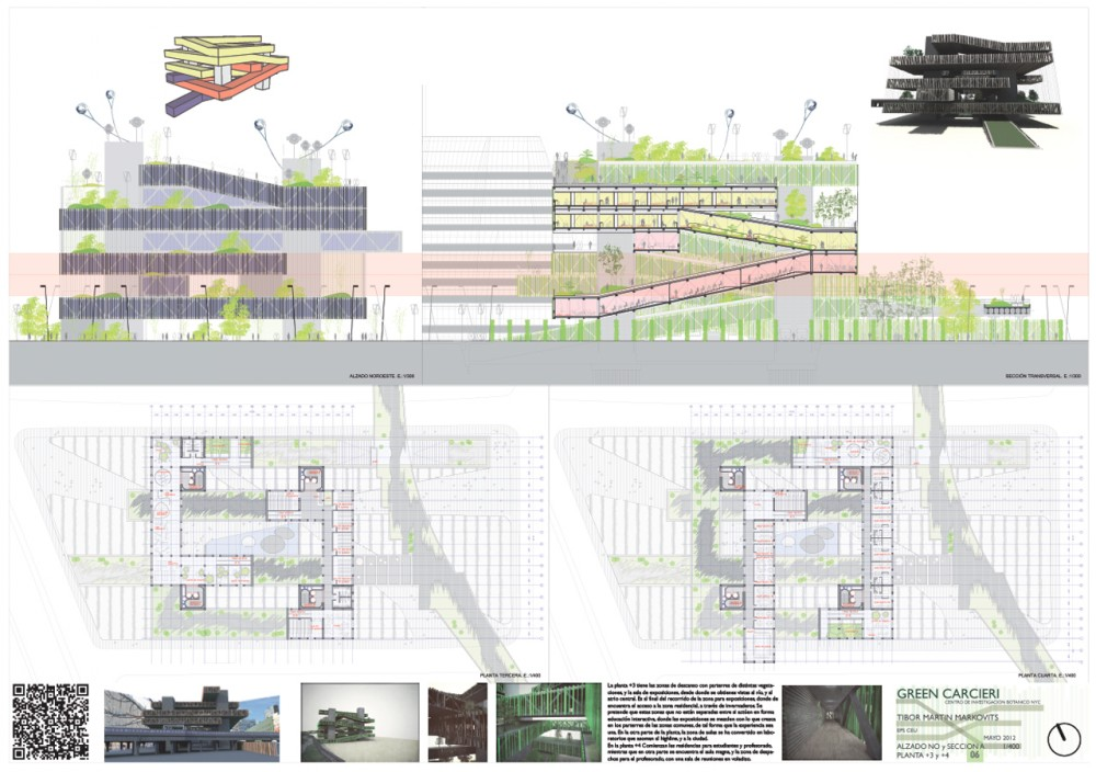 Green Carceri (Highline 4.0) / TARQUITECTOS