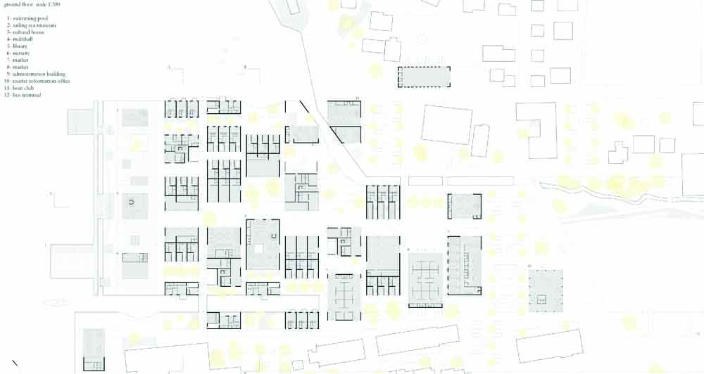 Klaksvik City Center Proposal / StudioWOK