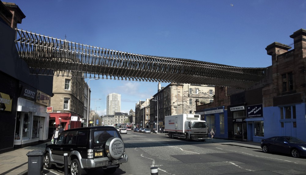 Leith Walk &#8216;Green Bridge&#8217; / biomorphis