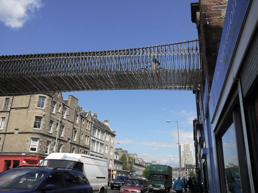 Leith Walk 'Green Bridge' / biomorphis