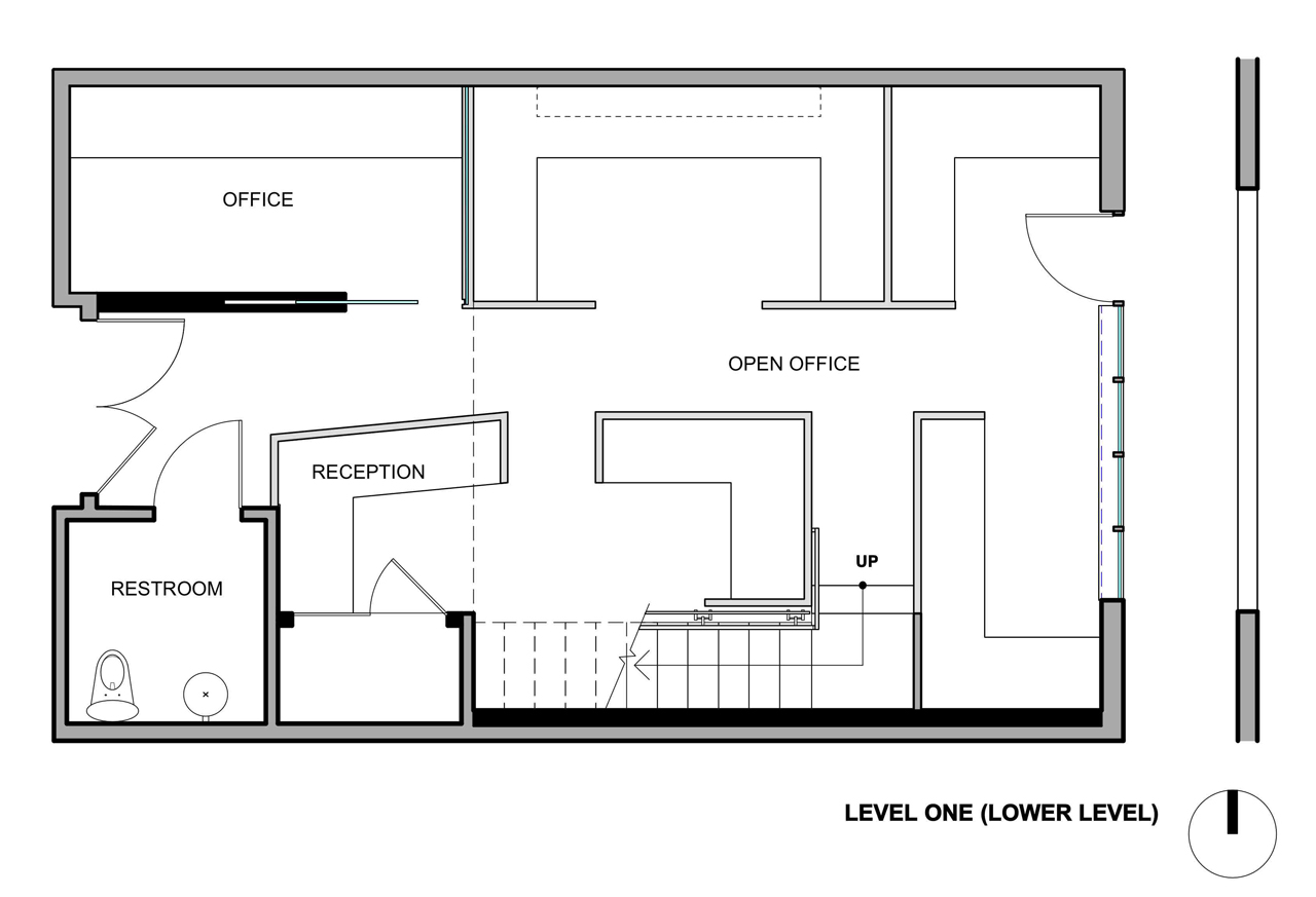 Small Office Building Floor Plans: The Offices Of Buck O'Neill Builders / Jones