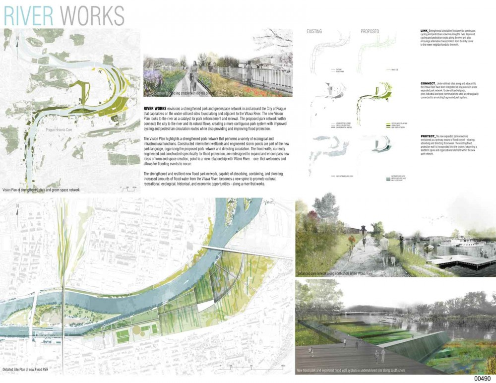 Skanska Bridging Prague Competition Winners