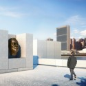New York City's first Kahn Structure nears Completion (9) Sculpture Court - Credit: Franklin D. Roosevelt Four Freedoms Park, LLC