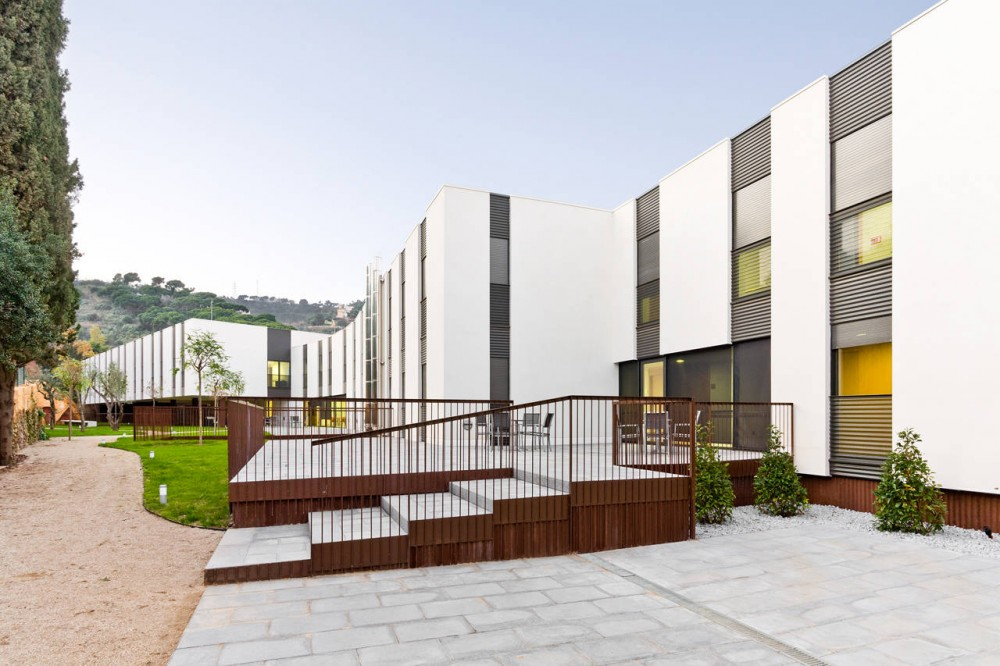 Architecture photography elderly residence mas piteu - Mas arquitectura ...