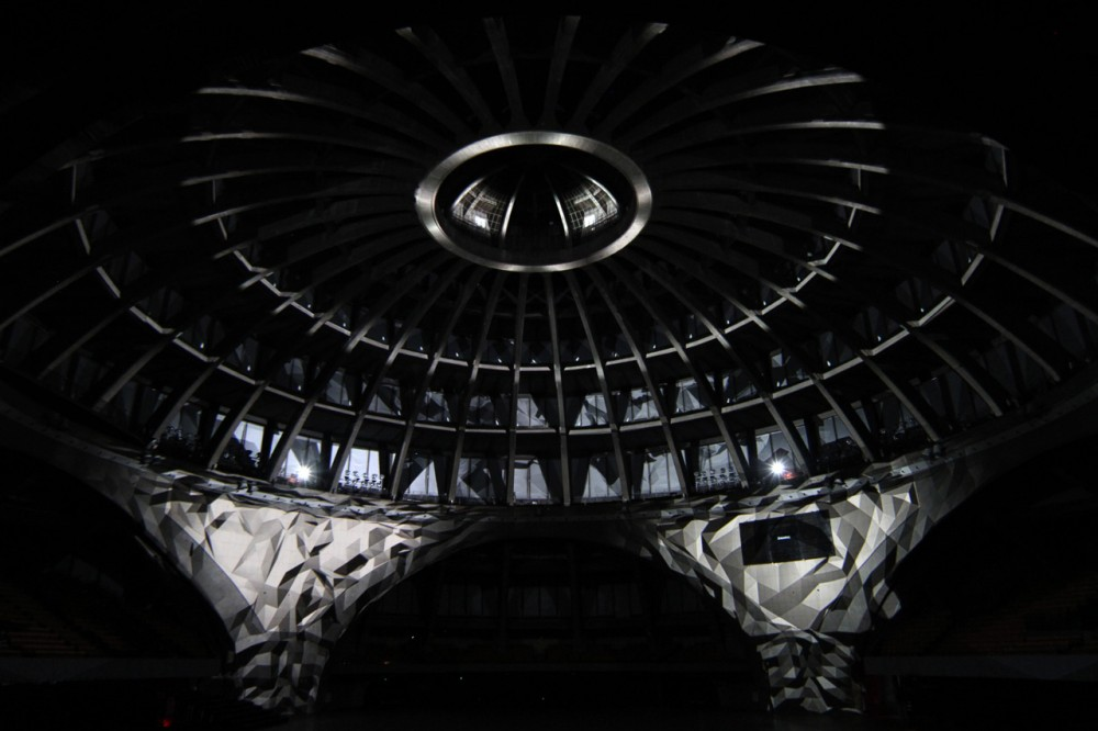 O (Omicron) Installation Directed by Romain Tardy & Thomas Vaquié
