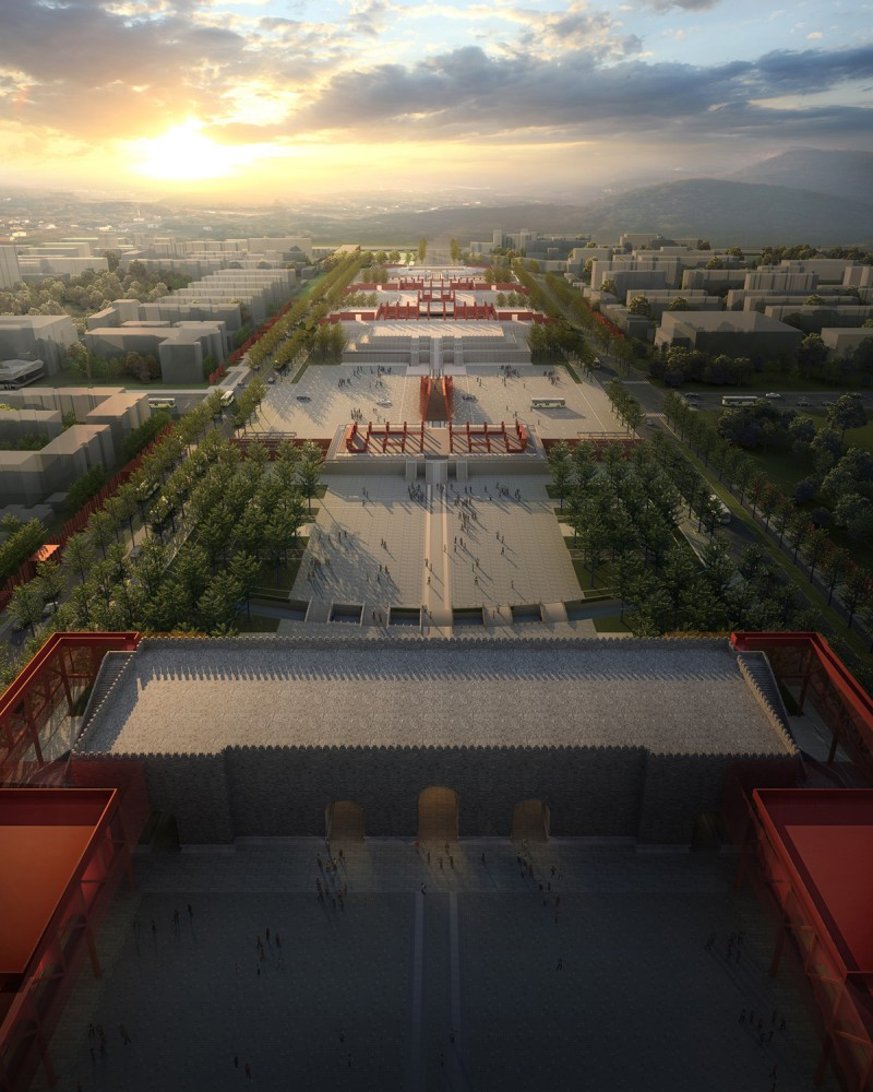 Regeneration of the Forbidden City / WILCOTER Architects
