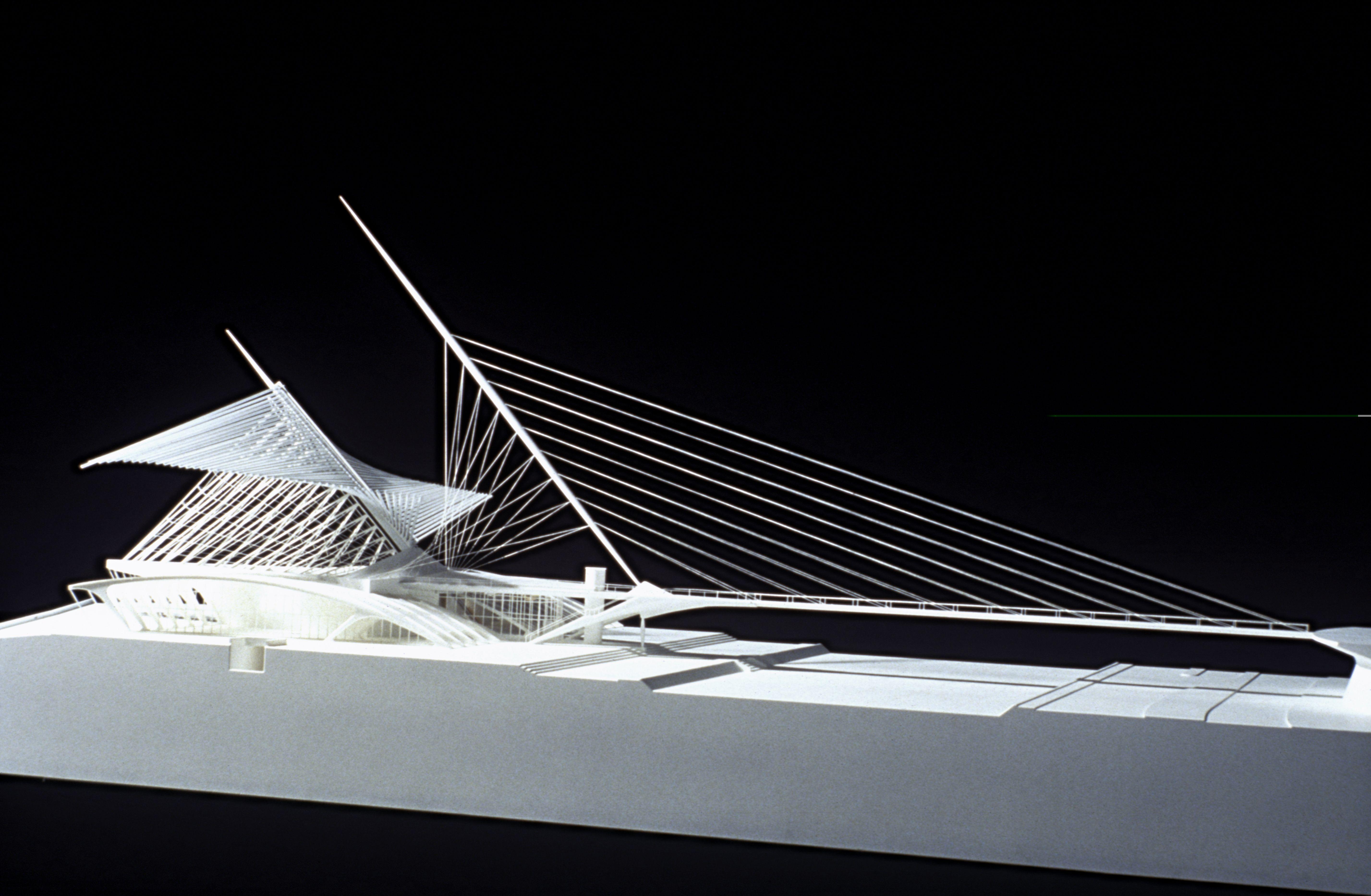 Santiago Calatrava design architecture exhibit