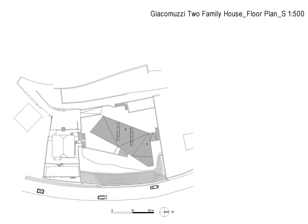 Two family house Giacomuzzi / Monovolume architecture