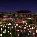 Bruce Munro announces plans for Solar Powered Field of Light at Uluru (2) © Stephen Weeks