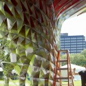 Assembly One Pavilion / Yale School of Architecture Students (6) Courtesy of the Yale School of Architecture