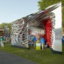 Assembly One Pavilion / Yale School of Architecture Students (2)  Chris Morgan Photography