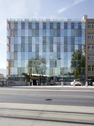 Avenue de France Administrative Building / Group8 (8) © Régis Golay