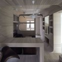 "Smolenka ""Oak Tube'' Apartment / Kostelov Peter  (15) © Zinon Razutdinov"