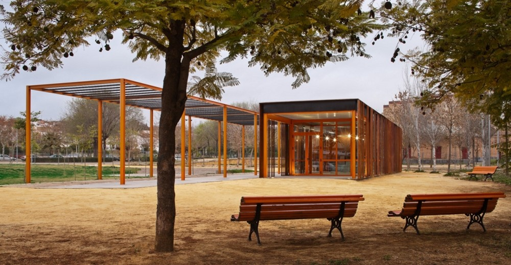 Reorganization of the Victoria Kent Park / Antonio Blanco Montero