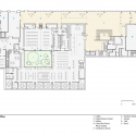 Silberman School of Social Work at Hunter College / Cooper, Robertson & Partners First Floor Plan 01