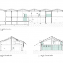 Te Wharewaka / architecture + Sections 01