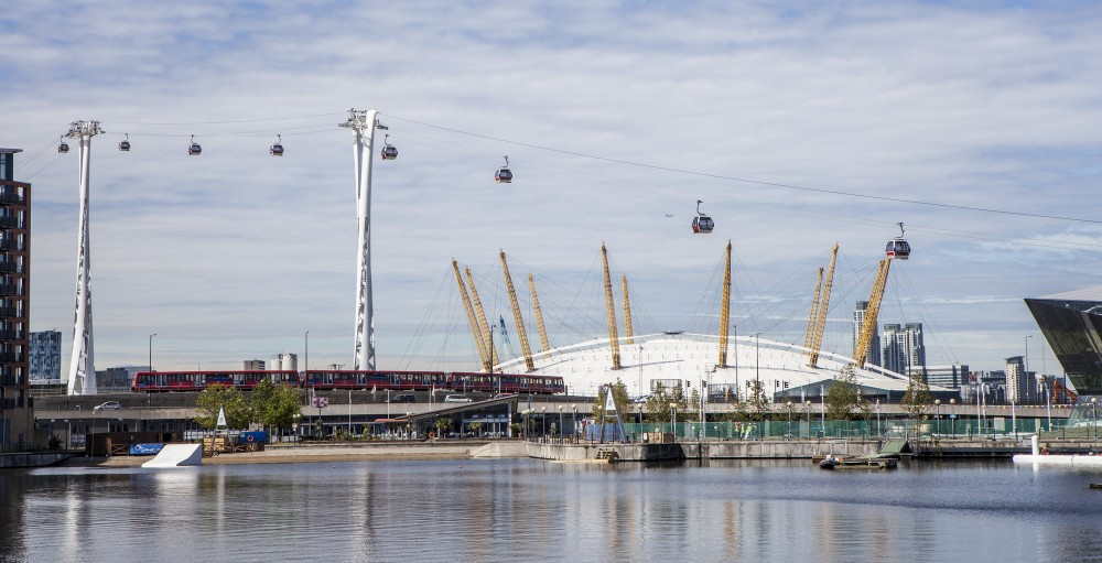 Emirates Air Line / Wilkinson Eyre Architects