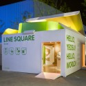 Naver Line Square / Urbantainer Courtesy of Urbantainer