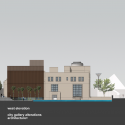 City Gallery / architecture + Elevation 02