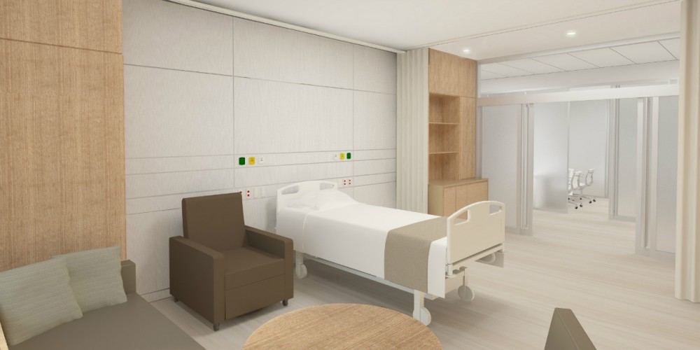 Christ Hospital Patient Room