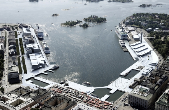 Helsinki South Harbour Competition Winners
