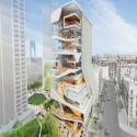 Diller Scofidio + Renfro Unveils New Columbia University Medical Building (1) Exterior View South - Courtesy of CUMC