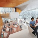 Diller Scofidio + Renfro Unveils New Columbia University Medical Building (6) Cafe - Courtesy of CUMC