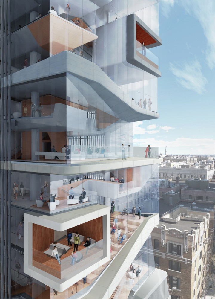 Diller Scofidio + Renfro Unveils New Columbia University Medical Building